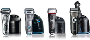 Braun Series 9-7-5-4.