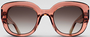Triwa Peach Ingrid women's sunglasses: US$175.