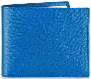 Mark Giusti 'Deep Blue Sea' Wallet: £175.