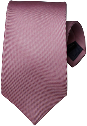 Le Noeud T - Limited Edition Silk Neck Tie In 50Oz English Silk Twill With Belle Dame Tipping - 8.5cm Width: US$175.