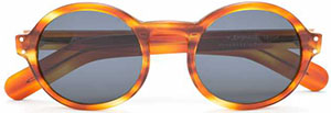 Our Legacy Embrace Cirrus Amber men's sunglasses: €180.
