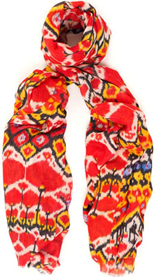 Lily and Lionel Italian Job Red women's scarf: £180.