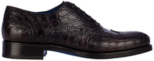 Loriblu Luxury Shoes crocodile skin lace-up: €1,800.