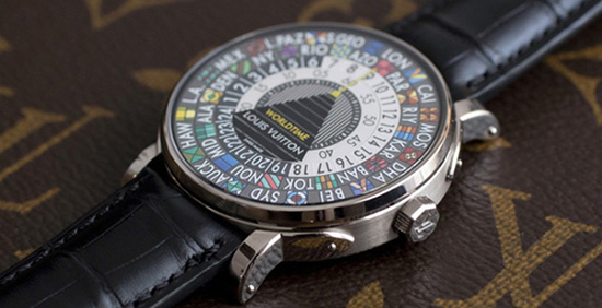 Louis Vuitton Escale Time Zone Watch: US$7,700.