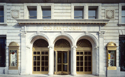 Old Ebbitt Grill, 675 15th St NW, Washington, DC 20005.