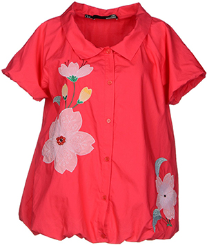 Love Moschino Women's Red Shirt: US$186.