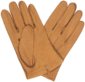 Budd Tan Hogskin Unlined Men's Gloves: £295.