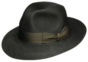 Borsalino Brushed felt Anello Gazzella hat, wide brim: €391.