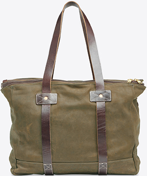 Billy Reid men's Olive Tote bag: US$695.