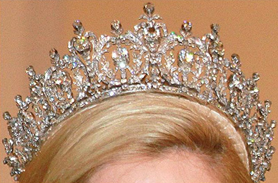 Queen Sophie's Diamond Tiara.