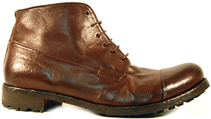 Gidigio men's Tobacco shoe: US$219.