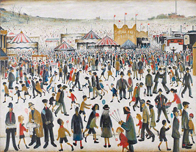 Lancashire Fair: Good Friday, Daisy Nook (1946) by L. S. Lowry.