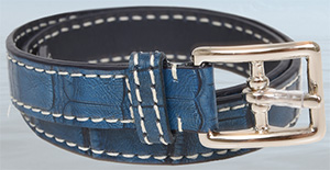Bianca Mosca women's alligator belt.