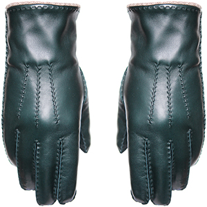 Masion Fabre men's gloves: €195.