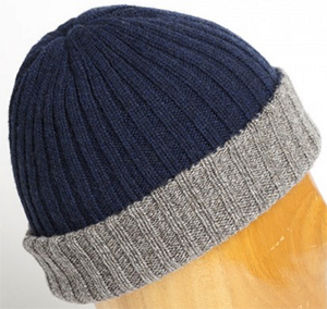 Fedeli Men's Bonnet Double Cashmere China/Lupo: €195.