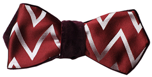 Le Noeud Papillon Apollo 100% Italian Woven Satin Silk bow tie: US$195.