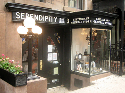 Serendipity 3, 225 East 60th Street (between 2nd and 3rd Avenues), New York City, NY 10022.
