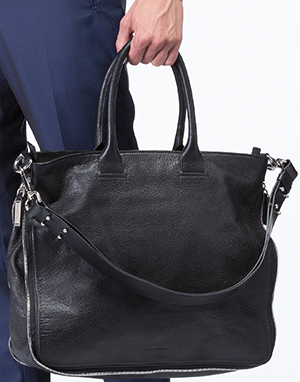 CoStume National Leather Briefcase: US$1,960.