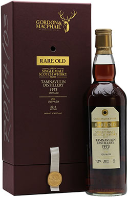 Tamnavulin 1973 Rare Old Sherry Cask Gordon & MacPhail Speyside Single Malt Scotch Whisky: £499.