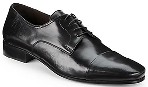 Bruno Magli Martico Leather Cap-Toe Dress Shoes: US$199.99.