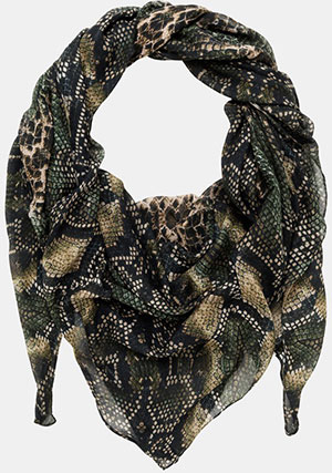 The Kooples Python Print Scarf: £84.