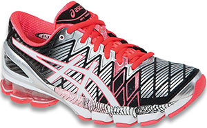 ASICS Gel-Kinsei 5 women's running footwear: US$200.