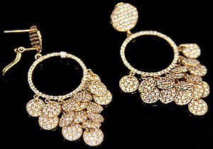 Domenica Vacca earrings.