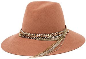 Browns Maison Michel Kate Felted Wool Women's Hat with Chain Band: €630.
