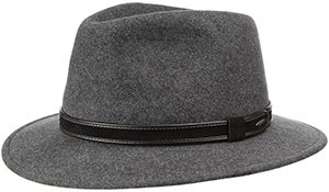 Men's Crushable Traveller Wool Hat by bugatti: €59.95.