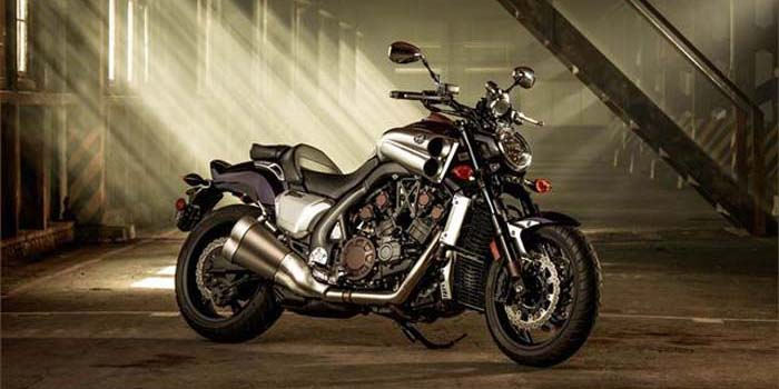 2013 Yamaha VMAX motorcycle - All Muscle. All Brains.