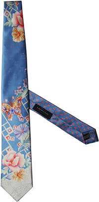 Couture Silk Tie Leonard Paris.