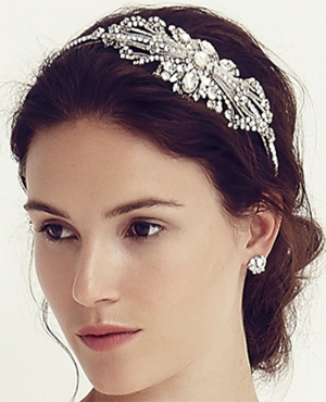 Jenny Packham Tzarina Headdress Crystal: £286.