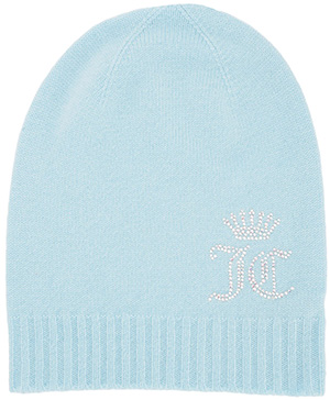 Juicy Couture Cashmere Women's Hat with crystals from Swarovski: US$198.