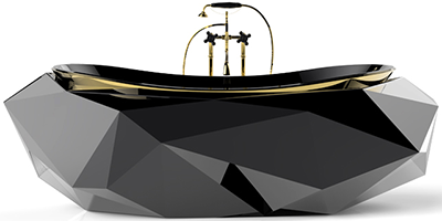 Maison Valentina Diamond Bathtub.