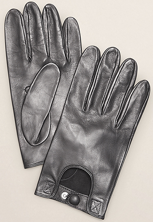 Kenneth Cole Men's Leather Riding Gloves: US$168.