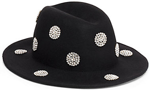 Kate Spade dot embellished hat: US$685.