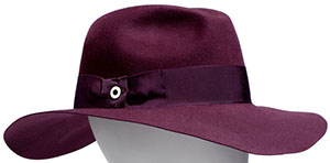 Loro Piana Kim Velvet Women's Hat: €1,030.