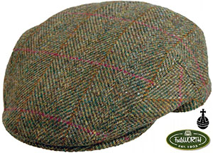 Stornoway Brown Harris Tweed Cap from Failsworth Hats: £29.50.