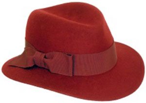 Mayser women's hat.