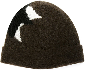 Neil Barrett 'Pop Art Star' beanie: €112.