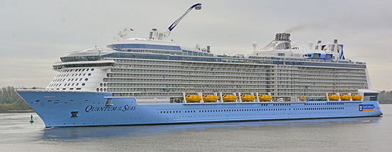 MS Quantum of the Seas.
