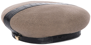Paule Ka Boiled Women's Wool Beret: €290.