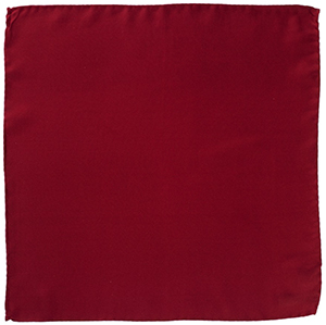 Roderick Charles Silk Pocket Square Burgundy: £39.