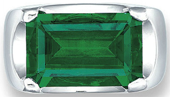 The Afghan Emerald - approx. 10 carats (38.3 grams) & approx. 17.30 × 10.95 × 7.70 mm.