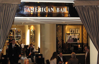 American Bar, The Savoy Hotel, 100 Strand, London WC2R 0EZ.