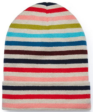 Tory Burch Cashmere Multi-Color women's hat: £175.