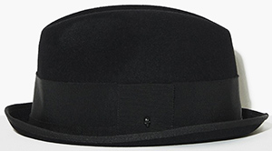 The Kooples Rabbit men's felt hat: £250.