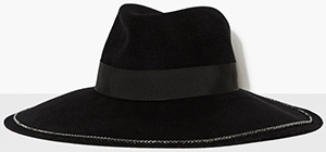 The Kooples Rabbit women's felt floppy hat: £265.