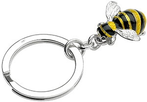 Deakin & Francis Silver Bumble Bee Key Ring: £205.