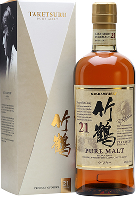 Nikka Taketsuru 21 year old.